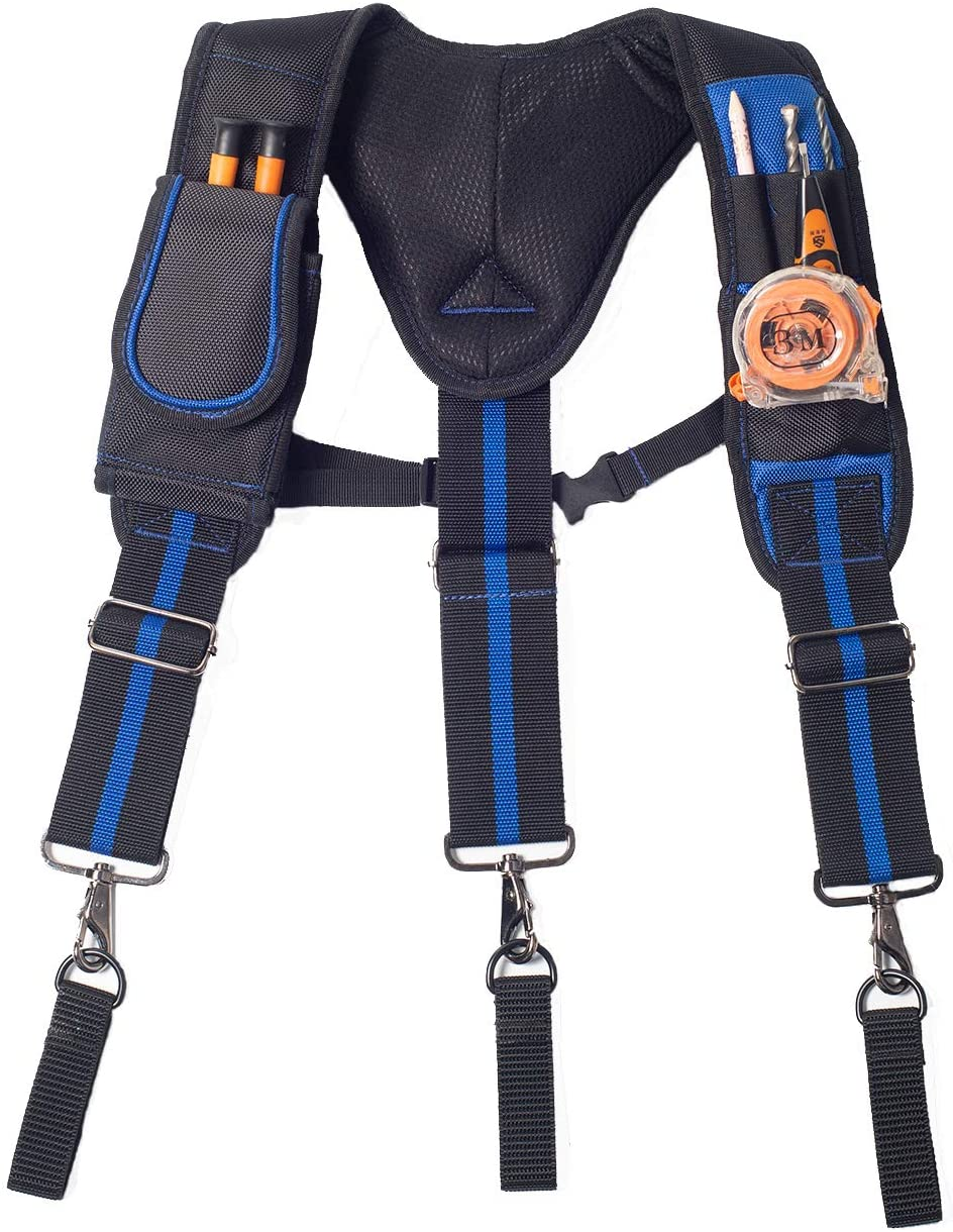 AISENIN Tool Belt Suspenders Pouch for excellence Bel Max 52% OFF