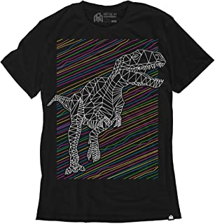 glow in the dark dinosaur shirt