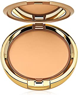 Milani Even Touch Powder Foundation - Natural (0.42 Ounce) Vegan, Cruelty-Free Pressed Powder Foundation with Medium-to-Full Coverage to Conceal Imperfections