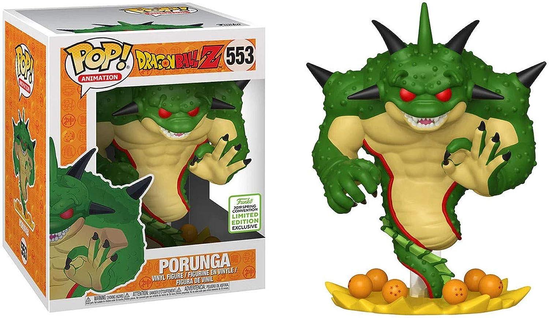 Funko Pop  Animation Dragon Ball Z Porunga   553 2019 Frühjahrstagung Exklusiv