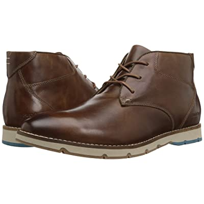 Hush Puppies Breccan Hayes (Light Brown Leather) Men
