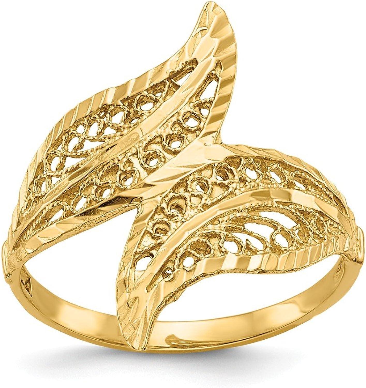 Beautiful Yellow gold 14K Yellowgold 14k Filigree Ring