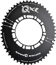 Rotor BCD110x4 39 Plateau Ovale pour Adulte pour ALDHU VEGAST et Tous Les manivelles Shimano 4 Trous Noir