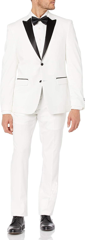 Perry Ellis Mens 2 Pc Tuxedo