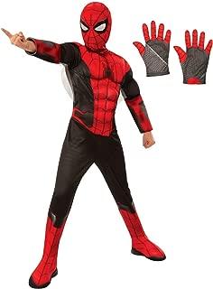 Spiderman Kids Deluxe Costume Kit - Red & Black