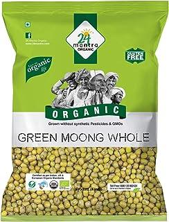 24 Mantra Organic – Green Moong Whole/sabut/saboot , 500g