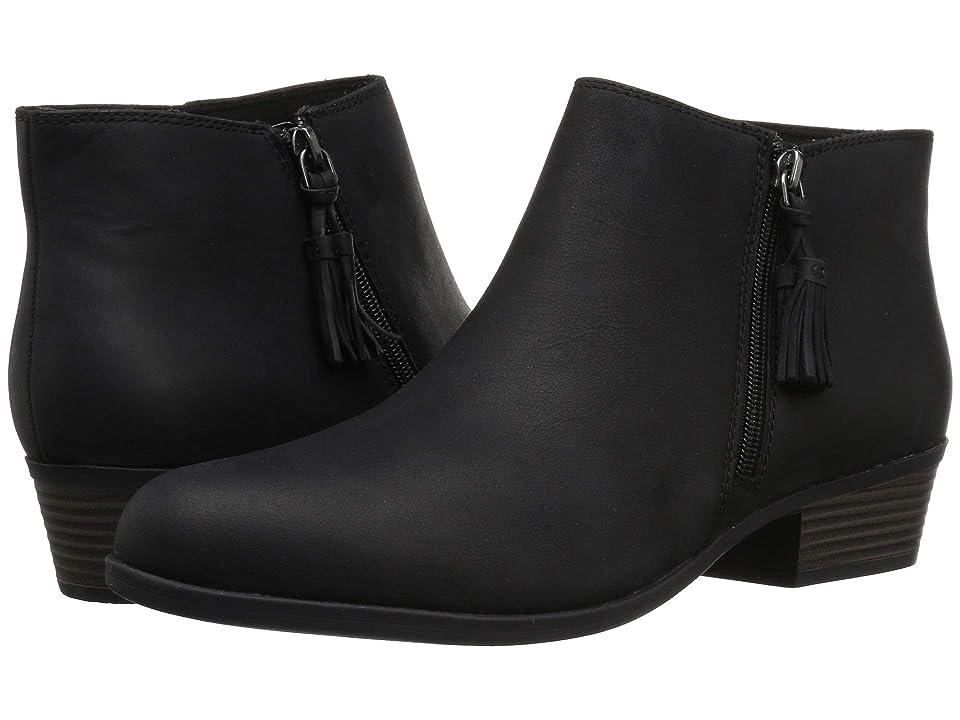 Clarks Addiy Terri (Black Leather) Women