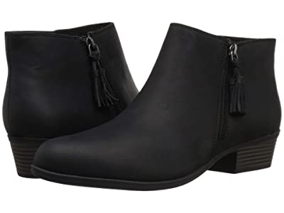 Clarks Addiy Terri (Black Leather) Women