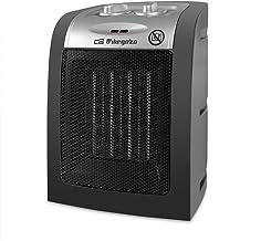 Orbegozo CR 5017 Calefactor Cerámico, Termostato Regulable, Protección contra Sobrecalentamiento, Sistema Antivuelco, 1500 W
