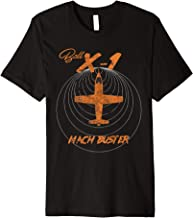 Bell X-1 Airplane Mach Buster Vintage Distressed T-Shirt