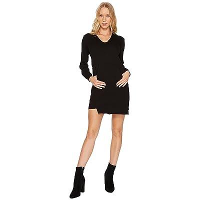 Lanston Hoodie Mini Dress (Black) Women