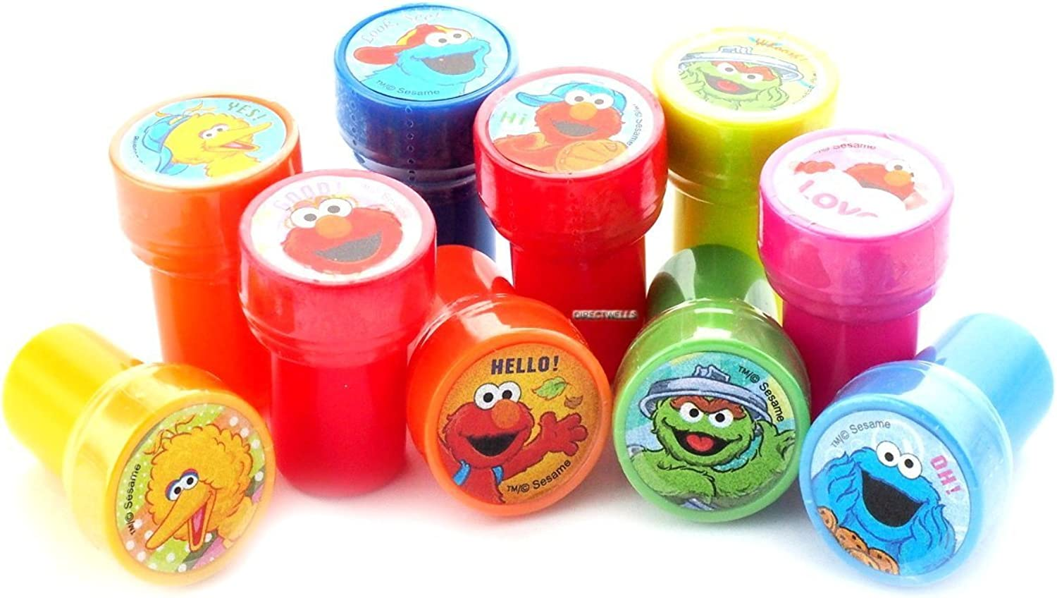 Elmo And Friends Stampers Party Favors (30 Stampers)