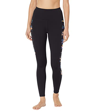 SKECHERS Floret High-Waist Leggings (Black Multi) Women