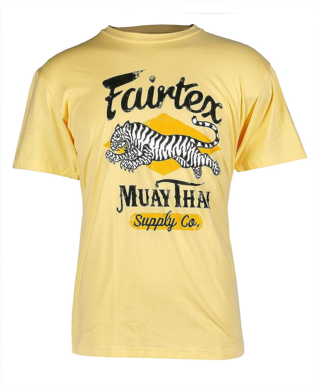 Sale Fairtex Tiger In a popularity T-Shirt Vanilla