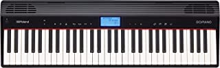 Roland GO:PIANO Education Bundle, 61-Key Digital Keyboard with Integrated Bluetooth Speakers and Faber Piano Adventures Lesson Book, 61 keys (GO-61PC)