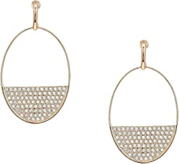Swarovski - Ginger Pierced Earrings