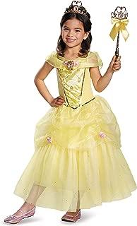 Disney Princess Belle Beauty & the Beast Deluxe Girls' Costume