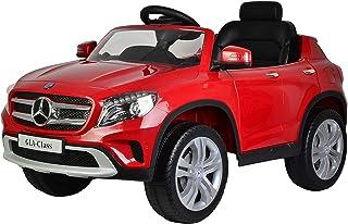 Megastar - Mercedes-Benz Kids Electric Ride On Car, Red, 653-D-RED