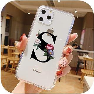ファッションカスタマイズされた頭文字ソフトクリアTPU電話ケースfor iPhone XS 11プロマックス7 8 6 sプラスXR X透明シリコーンカバー-40096-For iP6 or iP6s
