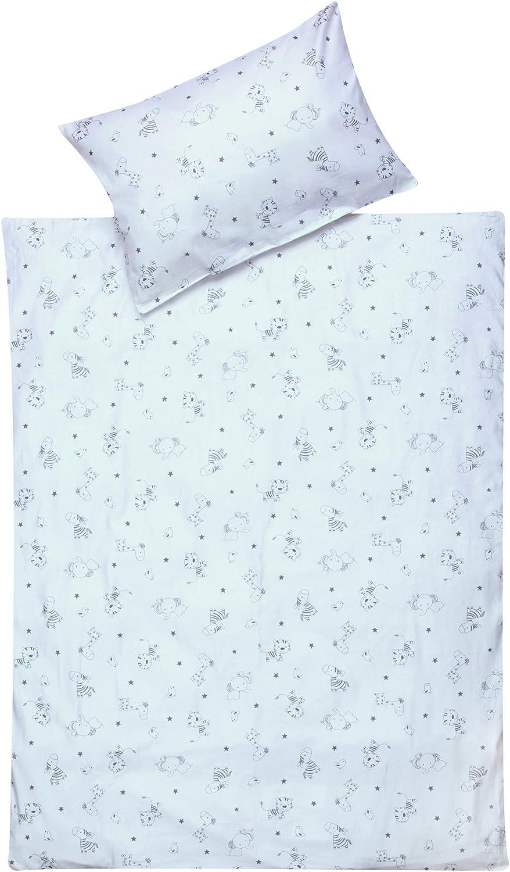 Set de parure de lit Schardt - 4 pièces Tiny Stars Gris 1/765