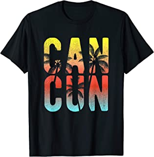 Cancun Mexico 2019 Souvenir T-Shirt