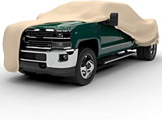 EmpireCovers Titan 4-Layer Series Truck Cover Universal Fit for Trucks 197 in. L x 60 in. W x 56 in. H, Tan
