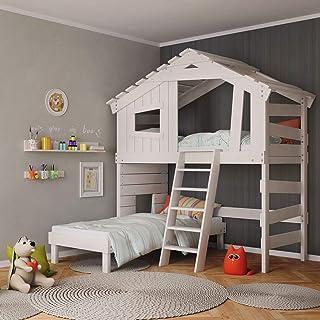 Letto A Soppalco Matrimoniale Ikea.Amazon It Letto A Soppalco