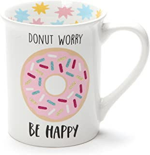 donut worry coffee mug