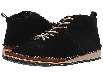 Gold & Gravy Day Boot (Black Suede) Men