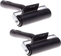 Cosmos 4 Inch Rubber Brayer Roller for Printmaking, Great for Gluing Application Also, Pack of 2