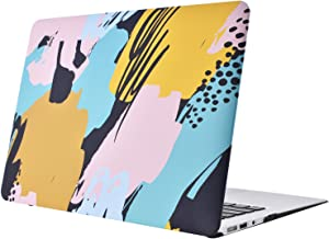 Hard Plastic Protective Case Soft-Touch for Apple MacBook Air 13 Inch Model A1369 and A1466(2012-1017), Art