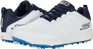 Skechers Mens Pro 4 Legacy Golf Shoes - Black/Red - UK