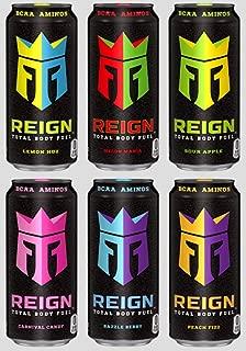 Reign Total Body Fuel (6 Flavor Sampler, 12 Count)