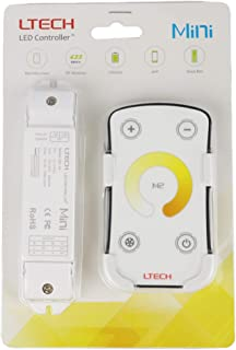 ltrgbw Mini LED Controlador Regulador de intensidad de SMD 50503528solo color LED Strip iluminación de cinta regulable 144.00 wattsW