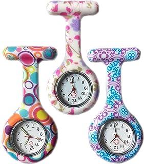 Boolavard® TM 3pcs Fleurs Silicone Surveillance de l'infirmière docteur paramédical Tunique Broche FOB Medical Watch, Lot ...