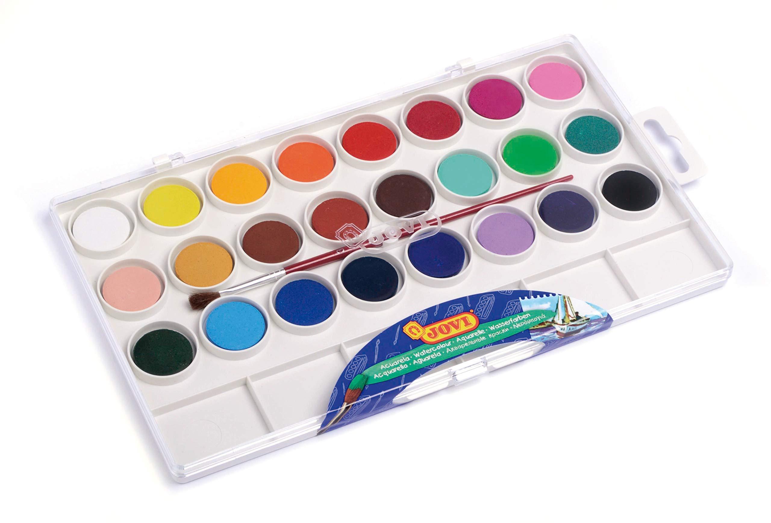 Jovi-725001 Estuche Acuarelas, Multicolor (800 24): Amazon.es: Juguetes y juegos