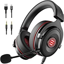 Best EKSA E900 USB Gaming Headset - PS4 Headset with 7.1 Surround Sound Noise Cancelling Mic, Memory Foam Earmuffs, Gaming Headphones for PC, PS4/PS5, Xbox One Controller, Nintendo Switch, Laptop Review