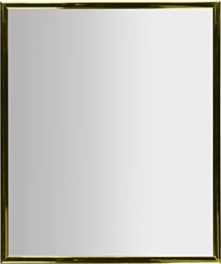 Kole Gold Trim Wall Mirror
