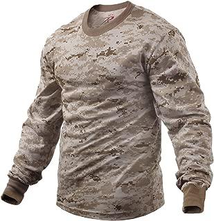 Rothco Long Sleeve T-Shirt in Desert Digital - Large