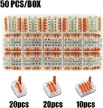 2 Loquet de lustres bornes à 12 pôles pour 10-16mm² Broche connexion bornes