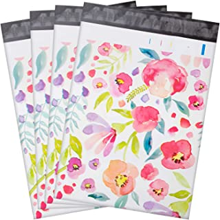 100 Pcs Poly Mailers,10x13 Package Envelopes,Cute Packaging Bags,Plastic Custom Mailing Shipping Bags with Self Seal Adhes...