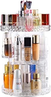 V-HANVER Acrylic Makeup Organizer, Cosmetic Storage and Vanity Perfume Organizers in Countertop...