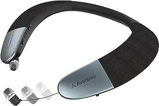Avantree Torus Wearable Wireless Speaker, Bluetooth 5.0, aptX HD, Low Latency, Personal Neckband Speakers with Retractable...