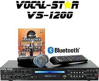 Vocal-Star VS-1200 CDG DVD HD Karaoke Machine, 2 Pin EU Plug
