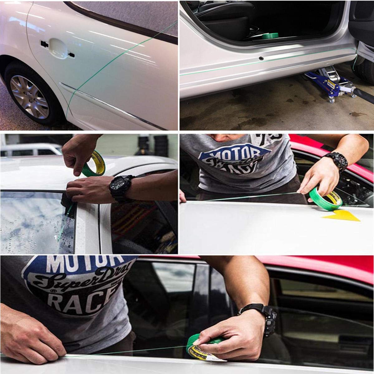 Anddod Cutting Line Knifeless Tape Vinyl Wrap Trim Tool Finish Pinstripe 50m for Car Film Sticker: Amazon.es: Coche y moto