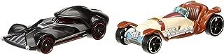 Hot Wheels Star Wars Obi-Wan Kenobi vs. Darth Vader Character Car 2-Pack