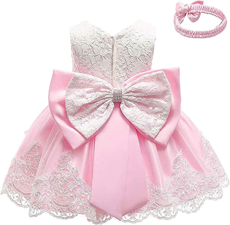 Max 76% OFF Baby Girls Formal Dresses Birthday NEW Wedding Bowknot Pr Tutu Dress