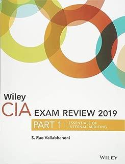 Wiley CIA Exam Review 2019, Part 1: Essentials of Internal Auditing (Wiley CIA Exam Review Series)