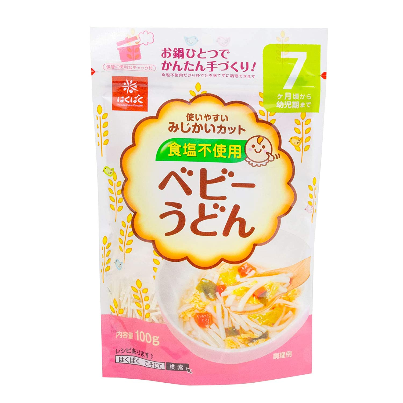 Hakubaku Baby Udon Noodles Max 69% Cheap sale OFF 4pack 100g x