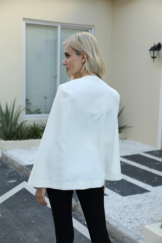 Womens Sleeveless Duster Open Front Cardigan Trench Coat Casual Lapel Blazer Jackets